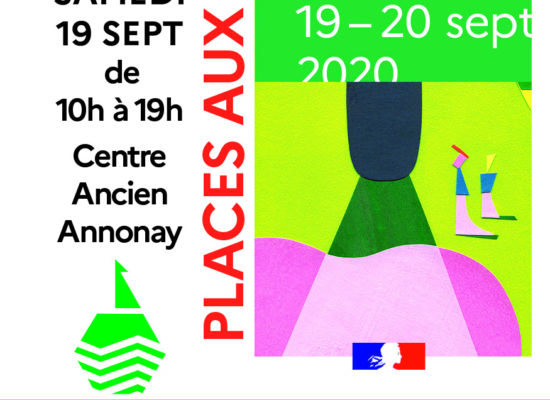 Affiche Places aux Arts Annonay 2020